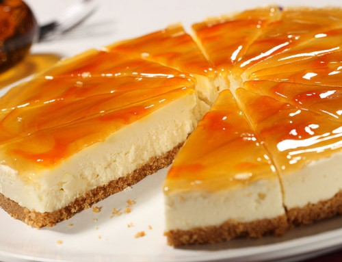 Clementine & Ginger Cheesecake