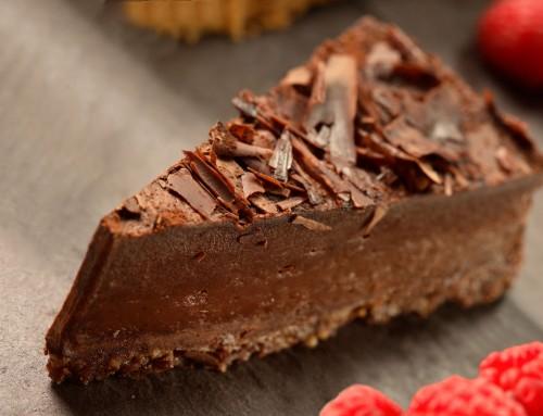 Chocolate Orange Truffle Torte