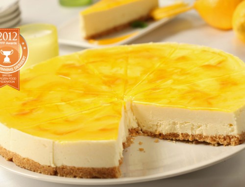 GF Luscious Lemon Cheesecake