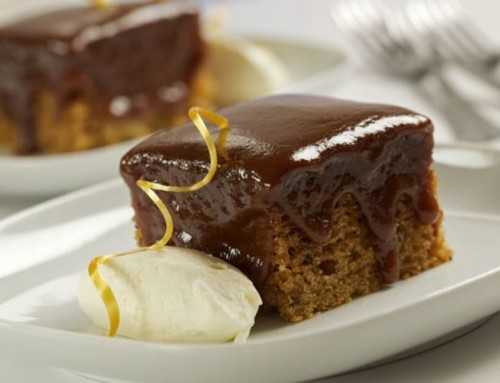 Sticky Toffee Pudding Squares