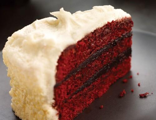 Red Velvet Chocolate Fudge Cake