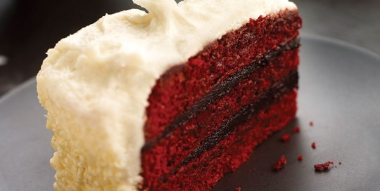 Red Velvet Slice Of Cake