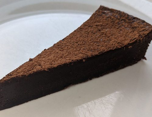 Baked Salted Chocolate Torte